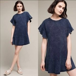 Anthropologie Saturday Sunday Denim Dress